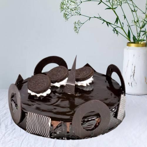 Chocolate Oreo Mousse Cake