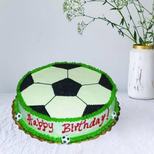 Football Cake Kids Birthday