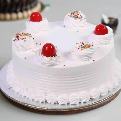 Fresh Vanilla Cake