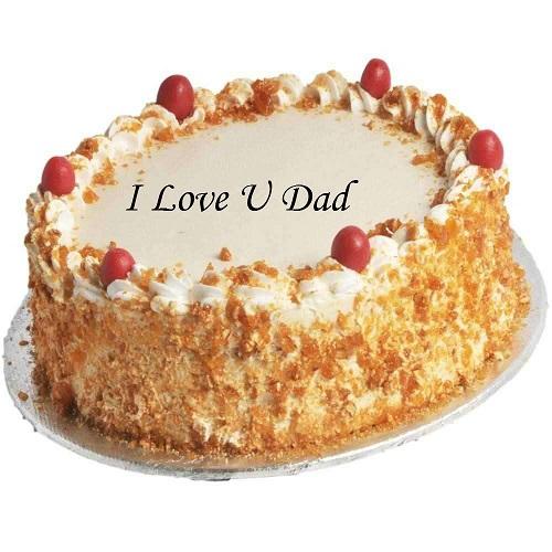 love Dad Butter Scotch Cake