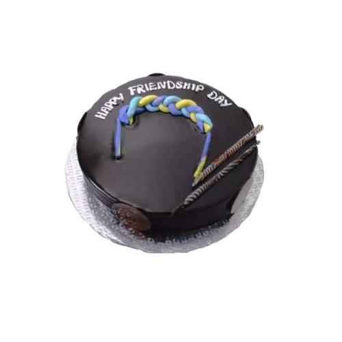 Friendship Day Chocolate Truffle Cake