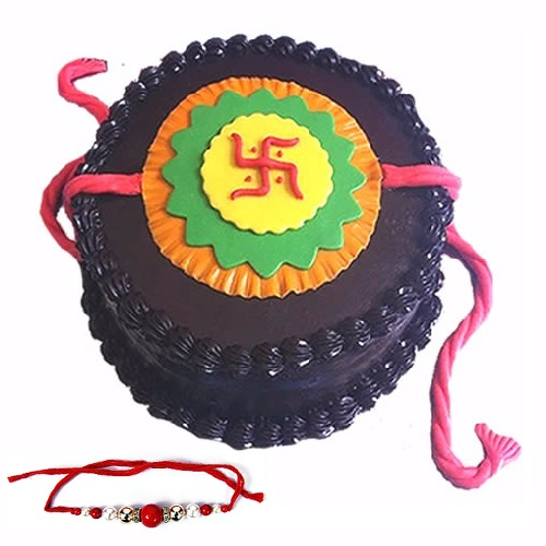 Rakhi Special Delicious Chocolate Cake