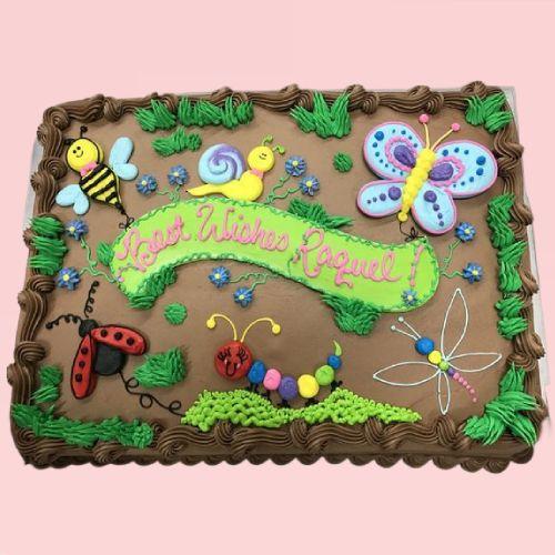 Butterfly Jungle Cake
