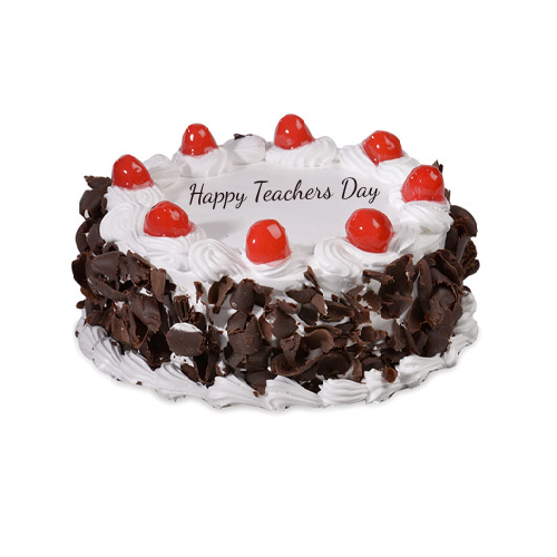 Delicious Black Forest Cake Teachers Day Special