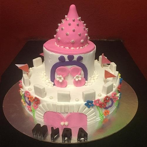 Disney Princess House Cake