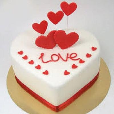 Love Heart Shape Cake