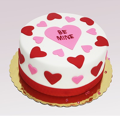 Valentine Special Be Mine Cake