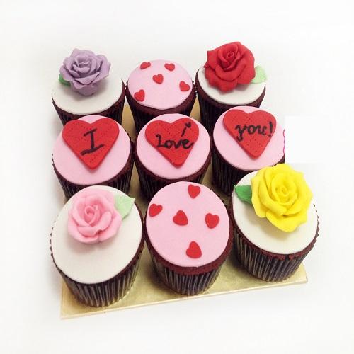 Delight love Special Cupcake