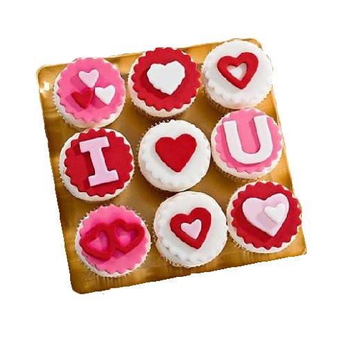 Special I Love U Cupcake