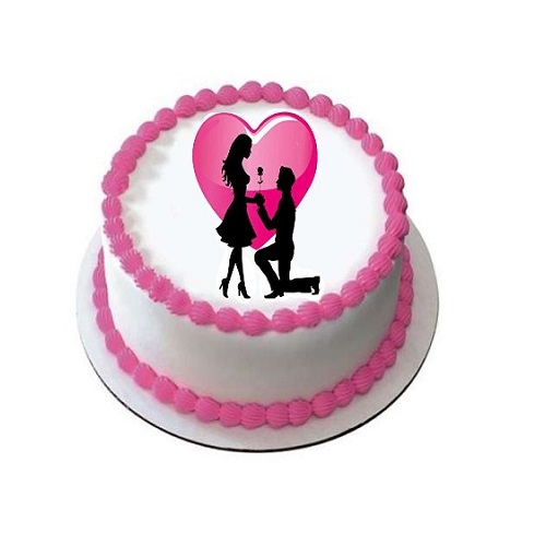 Happy Propose Day Special Photo Cake