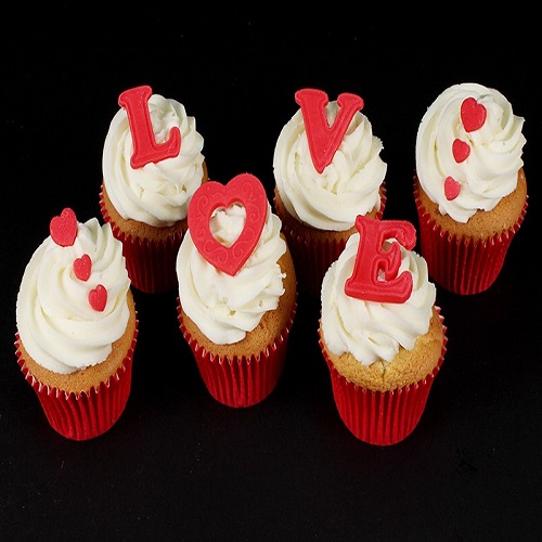 Valentine Special love Cupcake