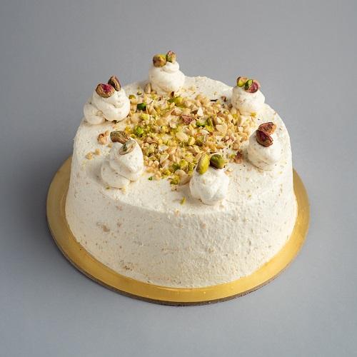 Delicious Pista Kulfi Cake