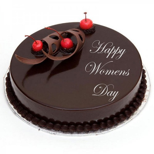 Women's Day Special Delicious Truffle Chocolate Cake