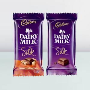 Cadbury Dairy Milk Silk Roast Almond Chocolate