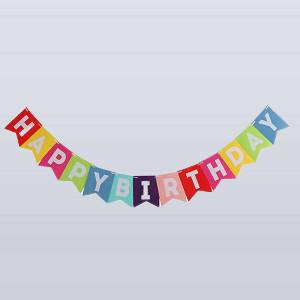 Happy Birthday Wall Hanger