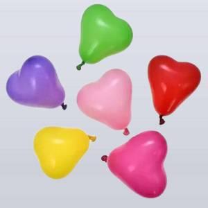 Heart Shape Multicolour Balloons