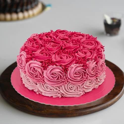 Designer Floral Cake