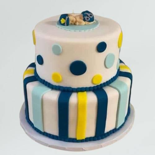 Little Police Officer Baby Shower Cake
