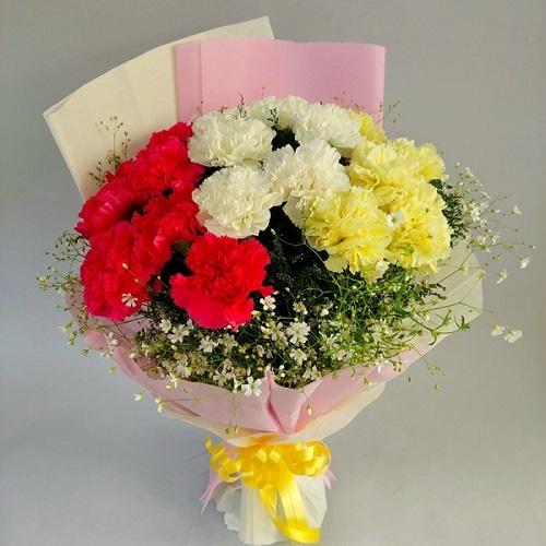 Mix Carnations Bouquet