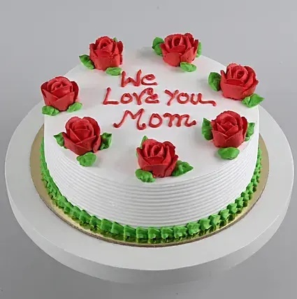 Love You Mom Cake mothers day special