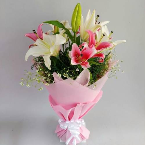 Exotic Lily Bouquet