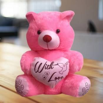 Heart Pink Teddy Bear