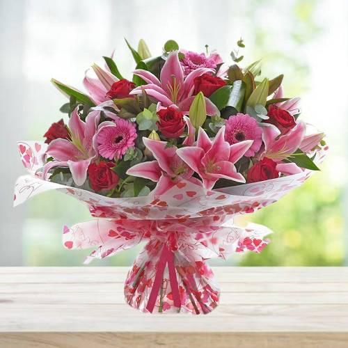 Mixed Exquisite Flowers Bouquet