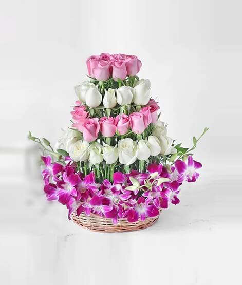 Mixed-Flower-Arrangements