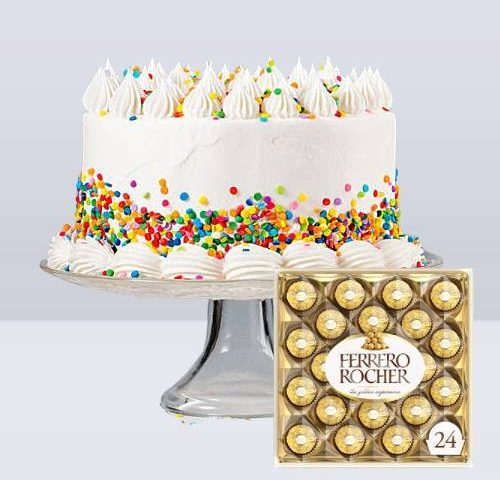 Cake and Chocolate Combo