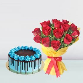 Cake and Flowers Combos